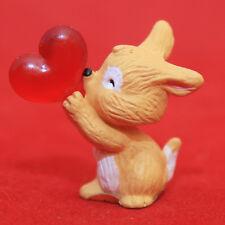 Hallmark Merry Miniatures VALENTINES DAY 1993 PUPPY w/ Heart Balloon QSM8092