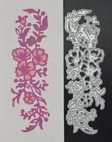 Flowers, Leaves & Foliage Metal Cutting Die, Card making, Crafts *UK SELLER* A4