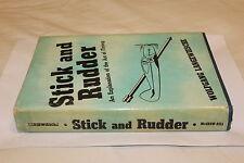 (71) Stick and Rudder An explanation of the art of flying /Wolfgang Langewiesche