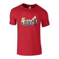 Mens T shirts Bounty Hunters Team Inspired Caricature Short Sleeves Cotton Tees