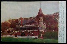 Bournville Village UK Postcard Early 1900s Rare VHTF Cadbury Athletic Pavilion