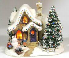 Thomas Kinkade Sweet Heart Cottage Iii Lighted Village Teleflora Christmas 2006