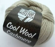 cool wool cashmere 50g Lana Grossa Merino Wool with Cashmere 029 Stone Grey