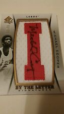 2012/13 SP AUTHENTIC MICHAEL COOPER BY THE LETTER AUTO #'D 32/75