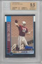 2002 Bowman Football Josh McCown (Rookie Card) (#122) BGS9.5 BGS