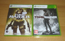 2 jeux XBOX 360 - Tomb raider underworld + Tomb raider 2014 (Lara croft)