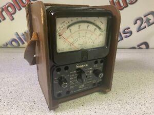 Simpson 270 Vintage Analog Multimeter