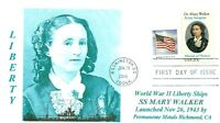MARY WALKER, MD. Ship named for Civil War Medal of Honor Awardee Photo First Day