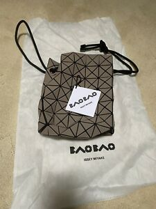 New Bao Bao Issey Miyake's Wring bucket bag (Seasonal nubuck inspired finish)