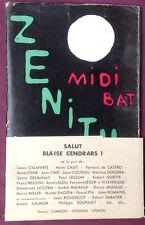 1954 EO revue RISQUES n°9-10 SALUT BLAISE CENDRARS!  très bon état