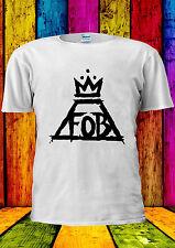 Fall Out Boy FOB Krone Logo Musik T-Shirt Vest Tank Top Männer Frauen Unisex 2323