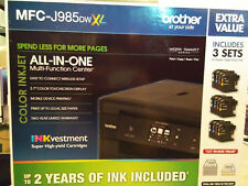 New Brother MFC-J985DWXL Wireless Color Inkjet Printer
