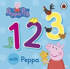 Peppa Pig: 123 with Peppa by Penguin Books Ltd (Board book, 2014)