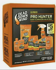 New listing Dead Down Wind 13 piece Pro Hunter Kit Scent Elimination - Fast Free Usa Ship