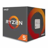 NEW! Amd Ryzen 5 1600X Cpu Am4 3.6Ghz 4.0 Turbo 6-Core 95W 19Mb Cache 14Nm No He