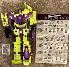 Hasbro 18 inch Transformers Combiner Wars Devastator Action Figure Set W/ Card