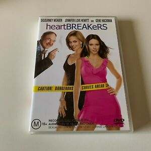 Heartbreakers DVD Widescreen Sigourney Weaver Jennifer Love Hewitt Ray Liotta