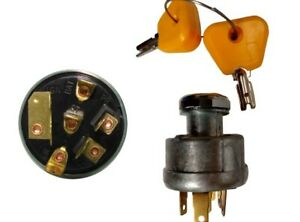 379902 YELLOW CAP IGNITION SWITCH  HYSTER REPLACEMENT TAIWAN QUALITY TO015