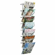 Safco 6432BL Wire Wall Display 7 Pocket