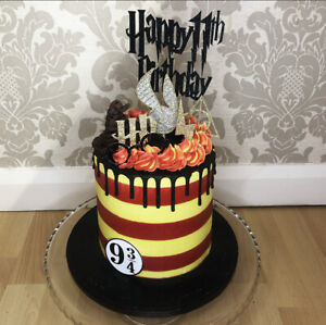 Harry Potter Cake Topper Set