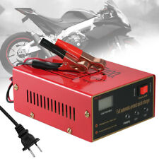 Fully Automatic 12V/24V Motorcycle and Electric Car Battery Charger HOT SALE