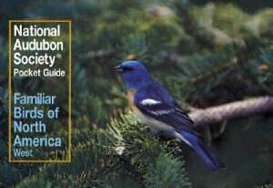 Familiar Birds of North America, Western Region (The Audubon Society Pock - GOOD