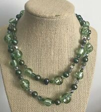 Pearl crystal Venetian Glass Necklace