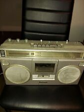 Vintage Panasonic Boombox Rx-5090 As Is . Radio Works Cassettes Need repair