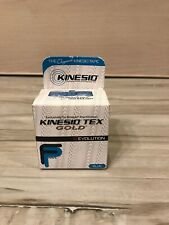 McK Kinesio Tex Gold FP Kinesiology Tape Cotton 2 Inch X 5-1/2 Yard Blue New