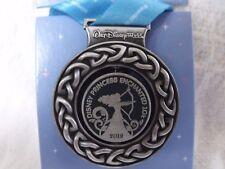 2018 Run Disney Princess Half Marathon Medal Spin Pin Enchanted 10K Brave Merida
