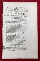 Périgueux en 1791 Villeneuve les Avignon Journal Royaliste Jacobins Auxerre