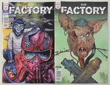 2x FACTORY Comic # 1 & 2 ~ TITAN / STATIX ~ NM/UNREAD ~ 1st Print 2018