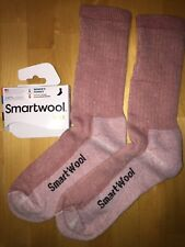 SmartWool HIKE Midweight Crew Socks–Meadow Mauve, Outdoor Backpack Camp–Women LG