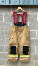 More details for new fire & rescue trousers & braces fire service firefighter thermal bristol ...