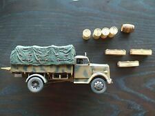 Unimax Forces of Valor 80061 WWII GERMAN OPEL BLITZ 4X4 3 Ton Cargo truck 1/32
