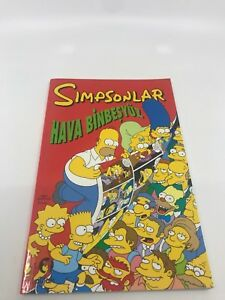 SIMPSONS COMICS SPECTECULAR - Foreign Comic Book - 2010s - VERY RARE - 8.5 VF+