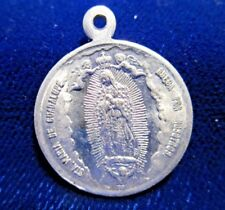 Our Lady of Guadalupe Medal/St Michael Archangel Aluminum Spanish