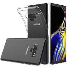 Case Cover for Samsung Galaxy Note 9 Phone  Transparent Crystal clear TPU Gel
