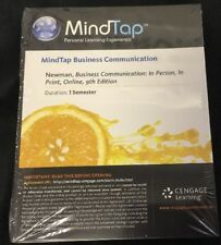 MindTap 1 Semester Access Code Business Communication: In Person In Print Online