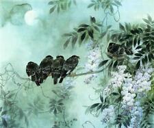Blue Floral Art Prints