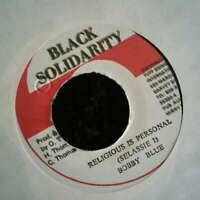 "Bobby Blue Religious Is Personal 7"" Vinyl Schallplatte 14644"