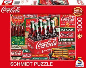 Coca Cola - Classic Bottles 1000 Piece Schmidt Puzzle