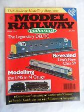 Model Railway Enthusiast - June 1994 - Modelling LMS in N gauge