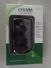 Cricket Samsung Comment 2 Protective Shield Black SKU CPC1828 Brand New