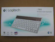 LOGITECH K760 Wireless Solar Keyboard English Russian Layout iPad Mac Bluetooth