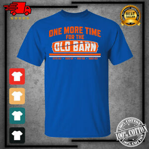 Men's 2021 One More Time For The Old Barn New York Islanders Hockey T-shirt S...