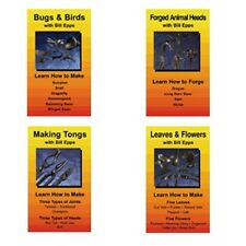 Birds, Bees, Flowers, Animal Heads & Tongs (4 DVD Set)