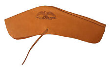 PROTEKTOR MODEL - TOP GRAIN LEATHER FLINT LOCK RIFLE COVER - MADE IN U.S.A.