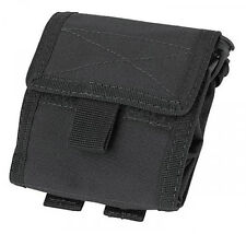 Condor Tactical Roll Up Modular Pouch Black MA36-002 MOLLE
