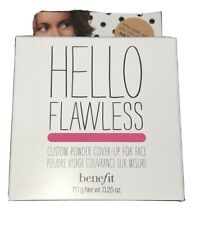 Benefit Hello Flawless Powder Cover up Foundation (Hazelnut) Bnib